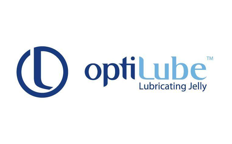 Logo du lubrifiant stérile OptiLube